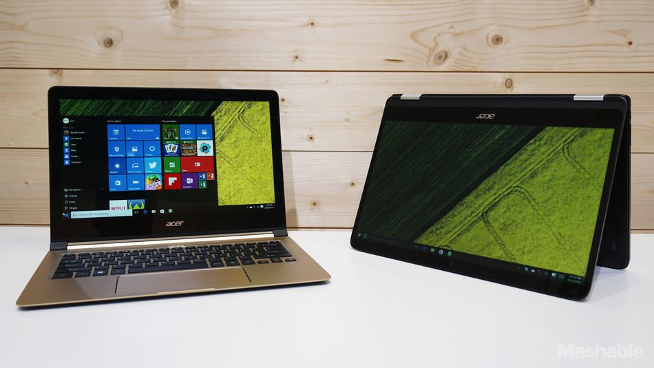Acer Swift 7 and Spin 7.