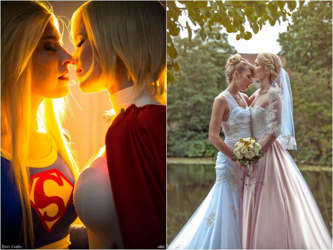 Married after meeting through cosplay.